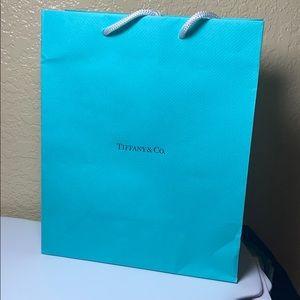 Tiffany & Co. shopping bag